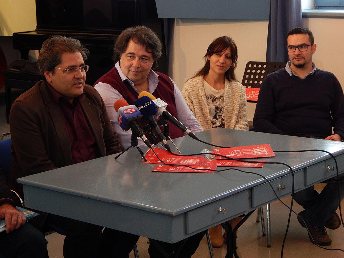 2015 Κώστας Κοτσιώλης, Διονύσης Μαλλούχος, Μαρία Κολόζου, Αντώνης Κουφουδάκης 2